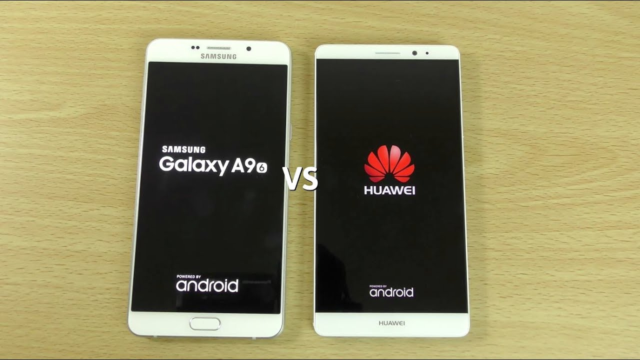 Samsung Galaxy A9 VS Huawei Mate 8