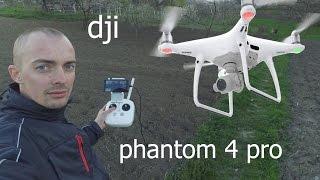dji phantom 4 pro интересный квадрик
