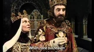 King John Act I, Scene I - Leonard Rossiter