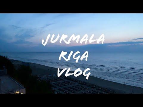 Влог из Юрмалы и Риги. 36 линия, черника и мопс 🇱🇻