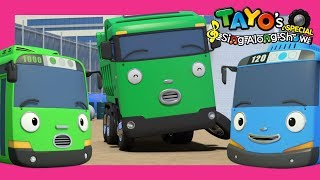 *NEW* Tayo Song & English Episode l Dump Truck Max l Tayo Sing Along Special l Strong Heavy Vehicles