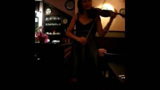 Fumiko playing fado at A Tasca (song 2 of 3)