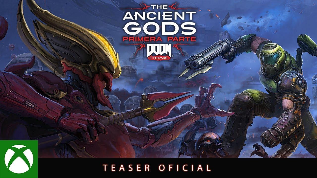 DOOM Ancient Gods DLC - Teaser Tráiler