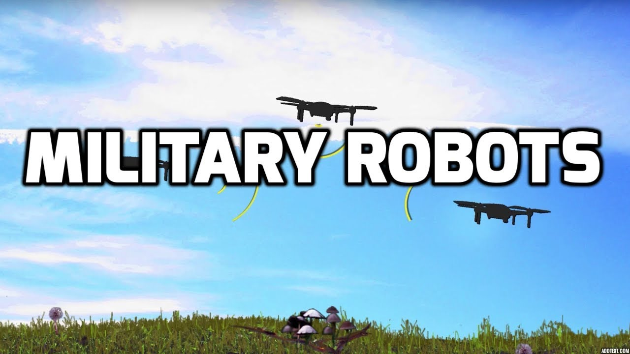 Military Robots - YouTube