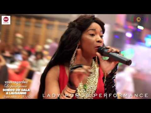 Lady Ponce performance at La prestigieuse soirée de gala à Lausanne 2016 by MKC Events