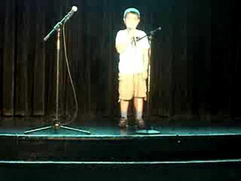 Disney Karaoke boy