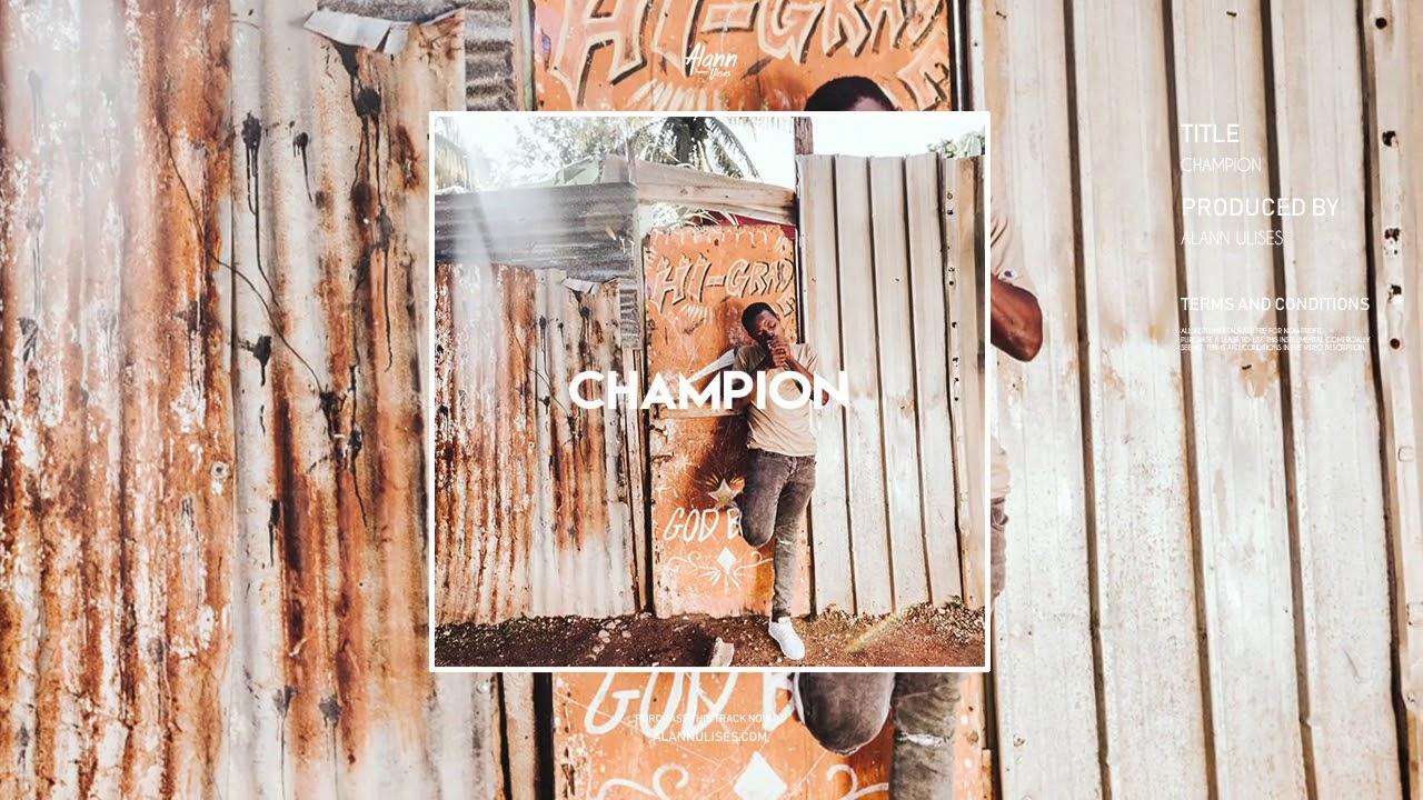 release date: speical offer various styles Champion Riddim (Dancehall Reggaeton / Reggae Beat Instrumental) 2019 -  Alann Ulises