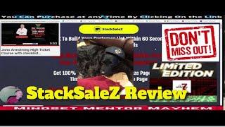 StackSalez Review my laтest bonuses