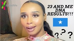 SOMALI 23 AND ME DNA RESULTS!!!