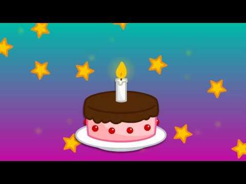 Cumpleaños feliz con letra - YouTube