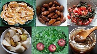 Journée frugivore en mono et duo repas