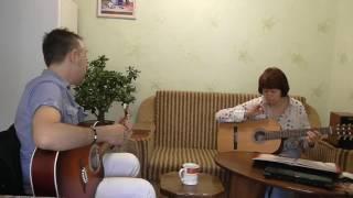 Жизнь за кадром  Урок обучения игры на гитаре.
