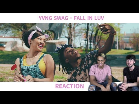 YVNG SWAG - FALL IN LUV (MUSIC VIDEO) REACTION