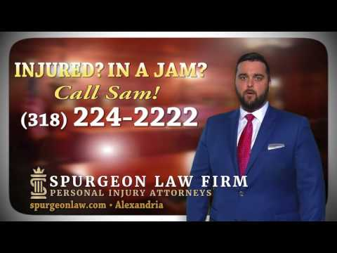 Spurgeon Law Firm Car Wreck Commercial