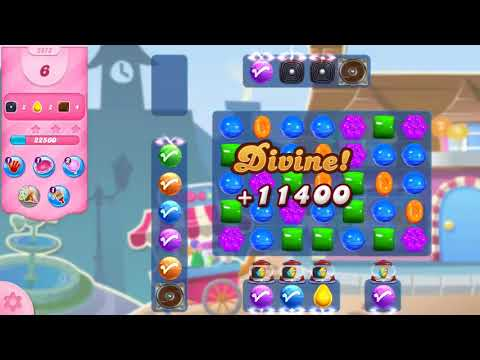 Candy Crush Saga Level 2972 NO BOOSTERS (15 moves)