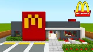 Minecraft Tutorial: How To Make A Modern McDonalds (Restaurant) &quot2020 City Tutorial&quot