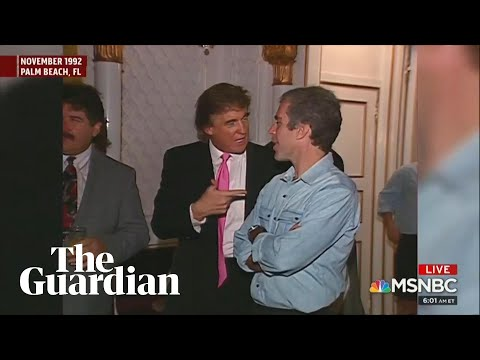 Footage of Trump and Epstein partying with women in 1992 emerges