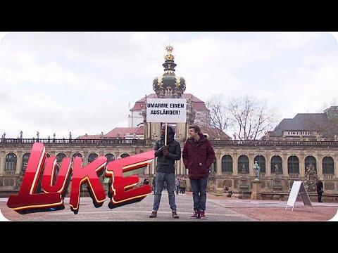 Luke und Dave bei Pegida - LUKE! Die Woche und ich