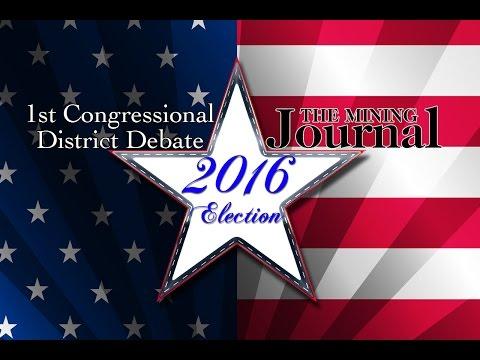 Mining Journal 1st Congressional District Debate 2016