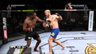 (Gameplay) UFC 2015 - PS4 - DEMO [Alexander Gustafsson VS Jon Jones]