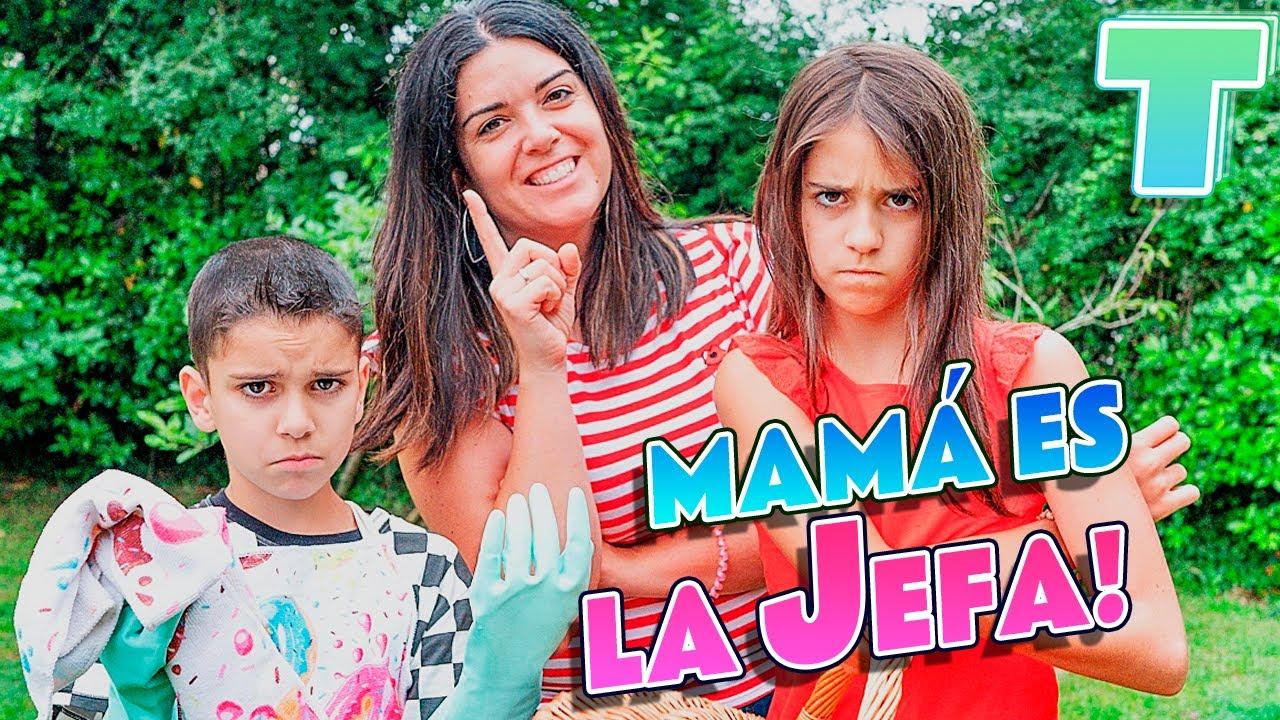 ¡¡MAMÁ es la JEFA!! 😱