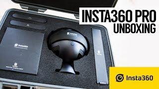 Insta360 Pro 8K 360‑Degree VR Camera Unboxing