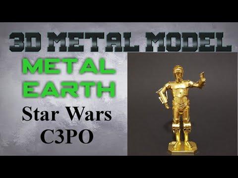 Metal Earth Build - Star Wars C-3PO