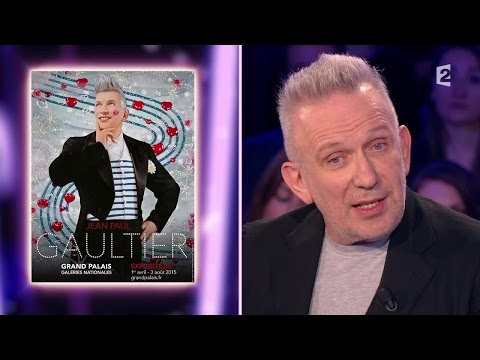 Jean-Paul Gaultier - On n'est pas couché 4 avril 2015 ONPC