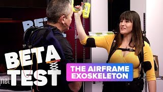 This Airframe exoskeleton makes light of hard work at CES 2019 (Beta Test)