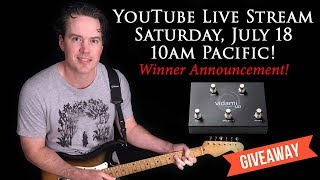 Carl Brown Live Event - Vidami Giveaway Winner Announced - July, 18 2020