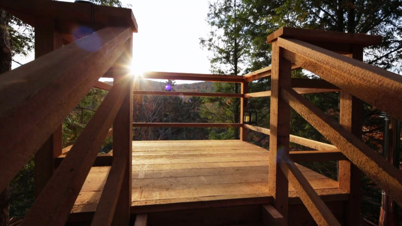behind the build the coolest treehouse ever built youtube - Treehouse Masters Inside