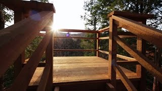 Behind The Build: The Coolest Treehouse Ever Built