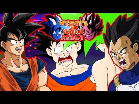 Vegeta & Goku React To Goku vs Kefla Kefla wins