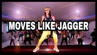 Download ZUMBA MAROON 5 ❌ MERENGUE REMIX - MOVES LIKE JAGGER - KARINA ROCHA LIVE CLASS Mp3