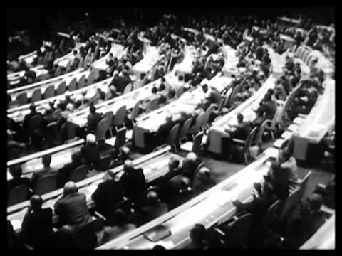 MacMillan-Khrushchev exchange at U.N. 1960
