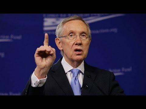 Clueless Harry Reid Walks Right Into GOP Trap