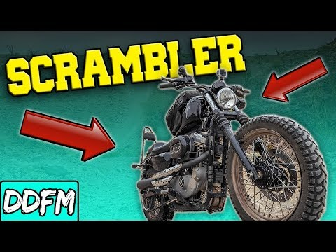 How To Build an Off Road Harley Sportster Scrambler on a Budget