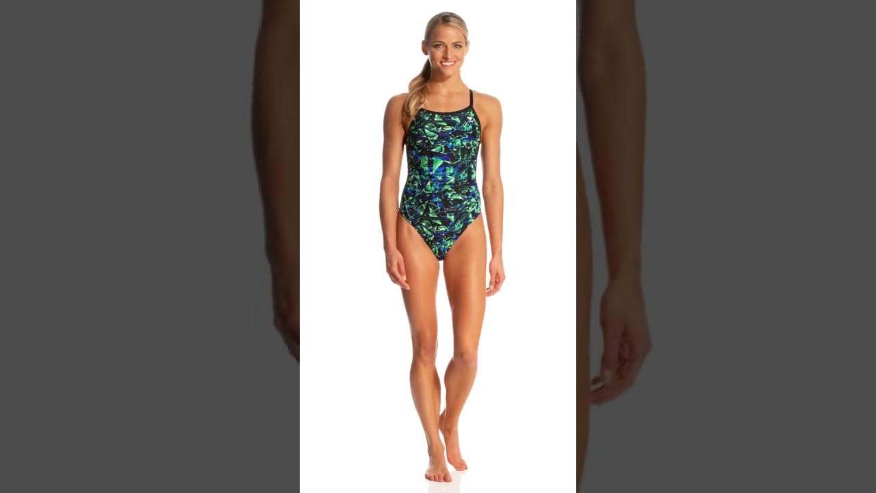 1173c2b3c128c TYR Women's Vitrum Diamondfit One Piece Swimsuit | SwimOutlet.com ...