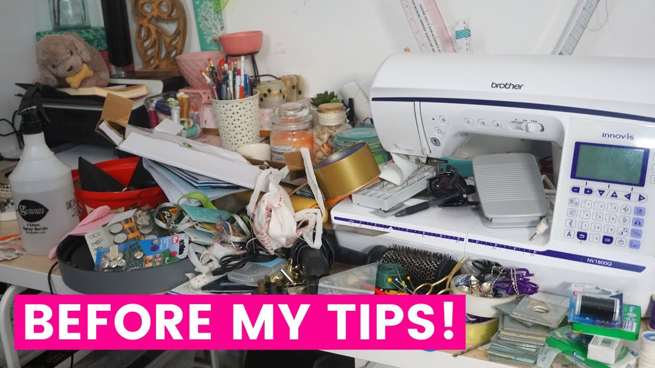 9 AMAZING TIPS for SIMPLIFYING your SEWING PROCESS! (Less time procrastinating, more time creating!)