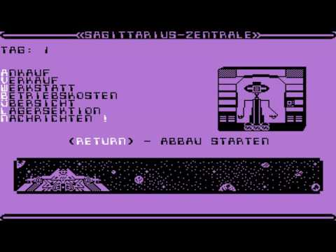 C64 Game: Sagittarius (German Language)