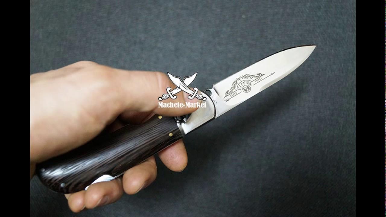Нож из дамасской стали «Восток», гравировка золочением, наборная .