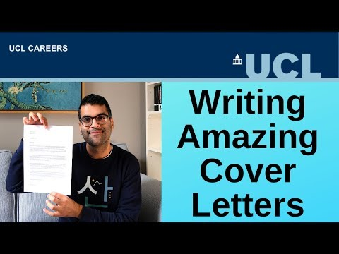 Writing Amazing Cover Letters  |  CareersLab