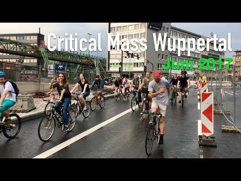 Critical Mass Wuppertal - Juni 2017