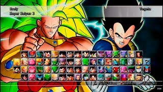 Dragon Ball: Raging Blast 2 All Characters [PS3]