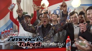 Reddi-Wip After Party: Fun with Grandpa, Quintavious Shows Off and More - America's Got Talent 2014