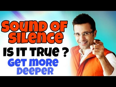 The Sandeep Maheshwari's Sound Of Silence - Does It Work ? | Hindi | Ashishji