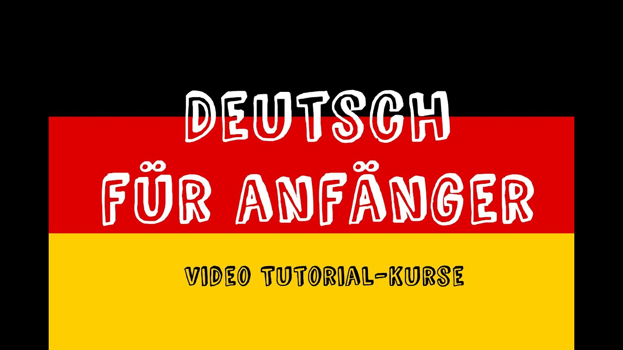 deutsch f r anf nger 3 bungen f r stufe a1 folge 1 youtube. Black Bedroom Furniture Sets. Home Design Ideas