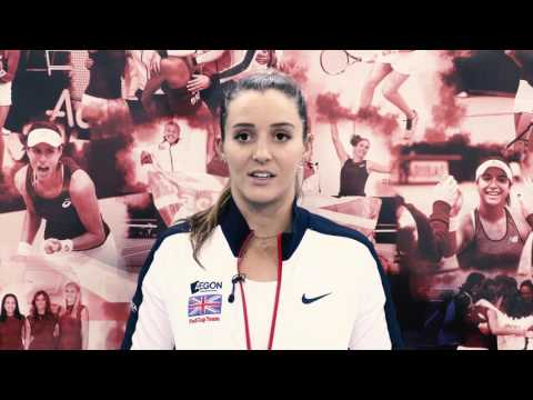 Fed Cup star Laura Robson's life firsts quiz