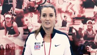 Fed Cup star Laura Robson
