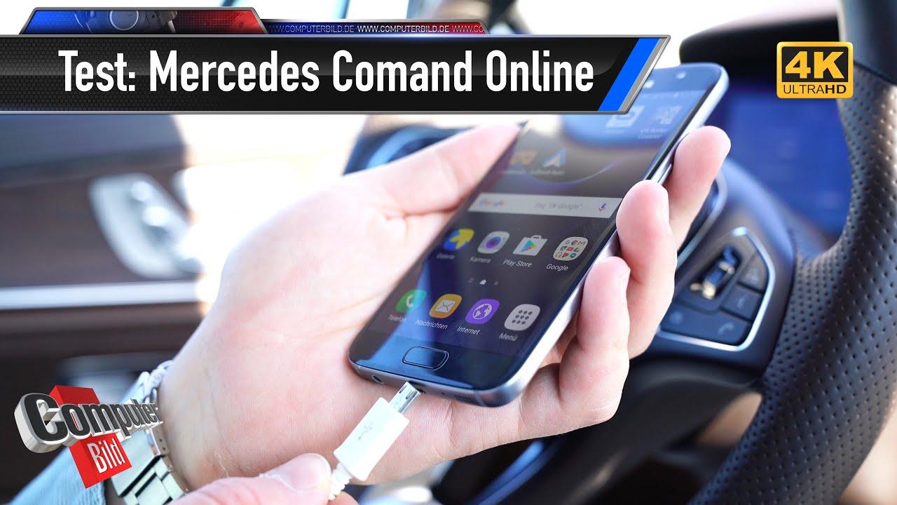 mercedes comand online was bietet die neue e klasse youtube. Black Bedroom Furniture Sets. Home Design Ideas